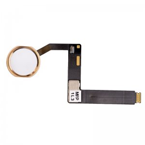 "Home Button with Flex Cable Assembly for iPad Pro 9.7"" Gold"