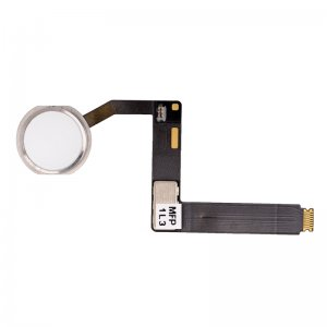 "Home Button with Flex Cable Assembly for iPad Pro 9.7"" Silver"