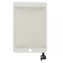 For iPad Mini 3 Touch Digitizer with ic White High Copy