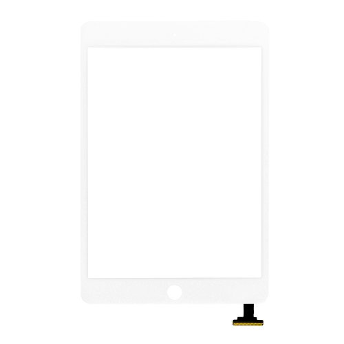 Digitizer Touch Screen without IC for iPad Mini 3 White Original Material