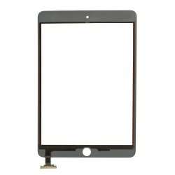 For iPad Mini 3 Touch Digitizer without ic White High Copy
