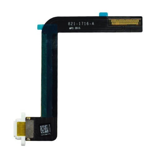 Original white Charge Port Connector Flex Cable Repair Part for iPad air/iPad 9.7 2017/iPad 9.7 2018