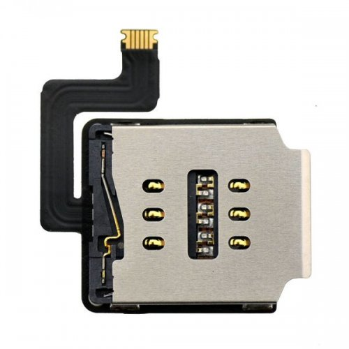 Original SIM Card Reader Contact with Flex Cable for iPad Air