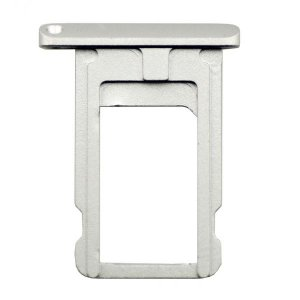 Silver  SIM Card Tray Holder Repair Part for iPad Air