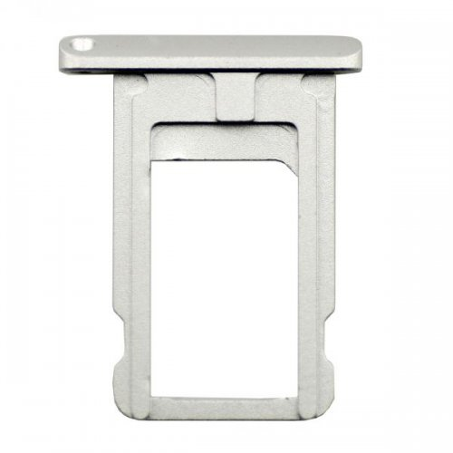 Silver  SIM Card Tray Holder Repair Part for iPad ...