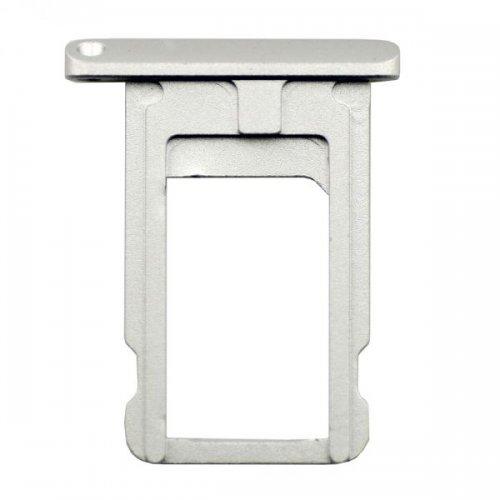 Silver  SIM Card Tray Holder Repair Part for iPad Air