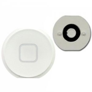Original White Home Menu Button Key Replacement for iPad Mini