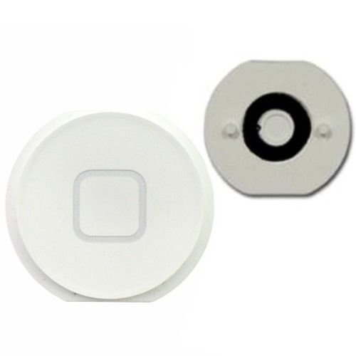 Original White Home Menu Button Key Replacement for iPad Mini