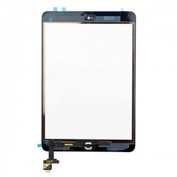 For iPad  Mini Touch Digitizer with ic White High Copy