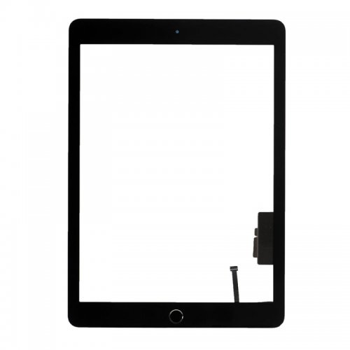 Touch Screen Digitizer for iPad New 2017 with Black Home Button Assembly Black OEM