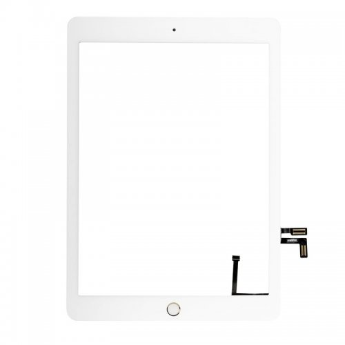 Touch Screen Digitizer for iPad New 2017 with Gold Home Button Assembly White OEM