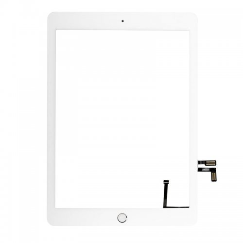 Touch Screen Digitizer for iPad New 2017 with White Home Button Assembly White OEM