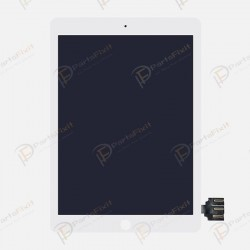For iPad Pro 9.7 inch LCD with Digitizer Assembly White