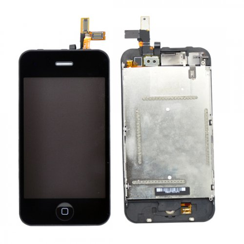 High Quality LCD with digitizer Assembly For iPhone 3GS Black