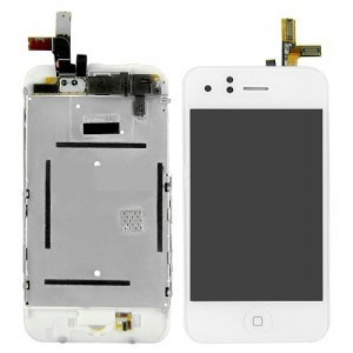 High Quality LCD with digitizer Assembly For iPhone 3GS White