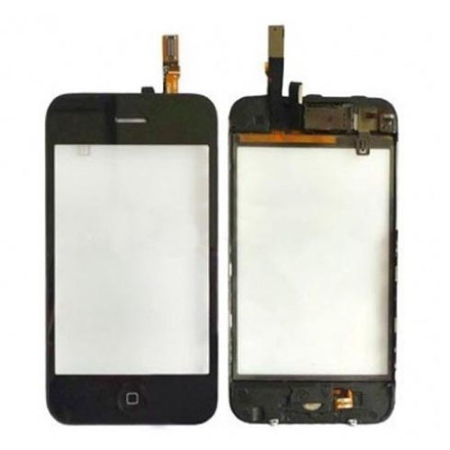 High Quality For iPhone 3GS Digitizer With Frame without LCD Black