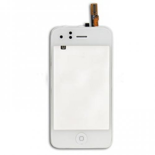 High Quality For iPhone 3GS Digitizer With Frame without LCD White