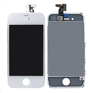 White for iPhone 4S LCD Display Touch Screen Digitizer Assembly(All parts are copy)