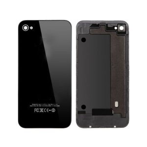 High Quality For iPhone 4G Back Cover Black