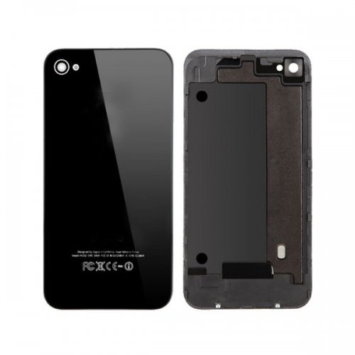 Original For iPhone 4G Back Cover Black