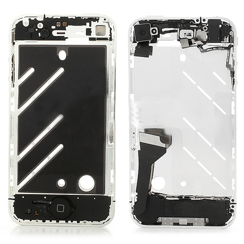 Middle Plate Frame Assembly with Small Parts For iPhone 4
