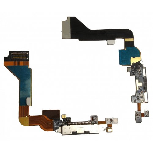 Original iPhone 4 Black Dock connector flex cable
