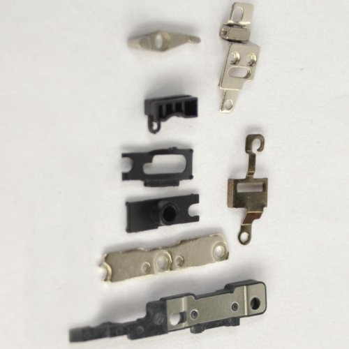 Original 8 in 1 Inner Small Parts For iPhone 4G Middle Plate