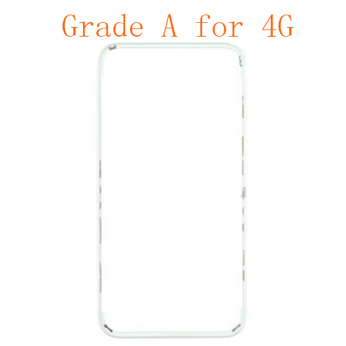 For iPhone 4 Frame with Hot Melt Glue or 3M Sticke...