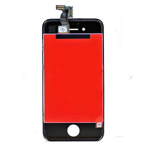 Black for iPhone 4S LCD Display Touch Screen Digitizer Assembly (All parts are copy)