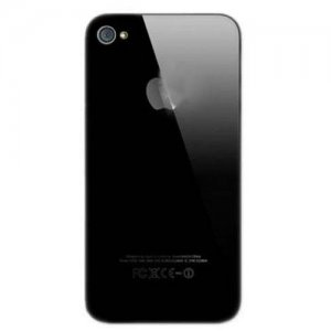 Original For iPhone 4S Back Cover Black
