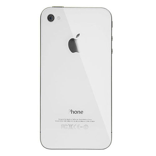 High quality back cover for iPhone 4S White