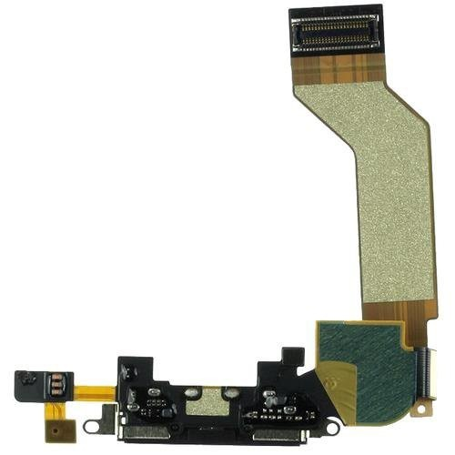 Original Black for iphone 4s Dock Connector Charging Port Flex Cable Ribbon