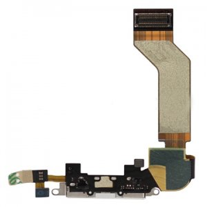 Original Dock Connector Charging Port Flex Cable Ribbon for iphone 4s -White