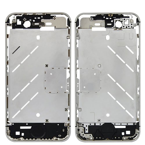 Original Middle Frame Housing Plate for iPhone 4S -Silver
