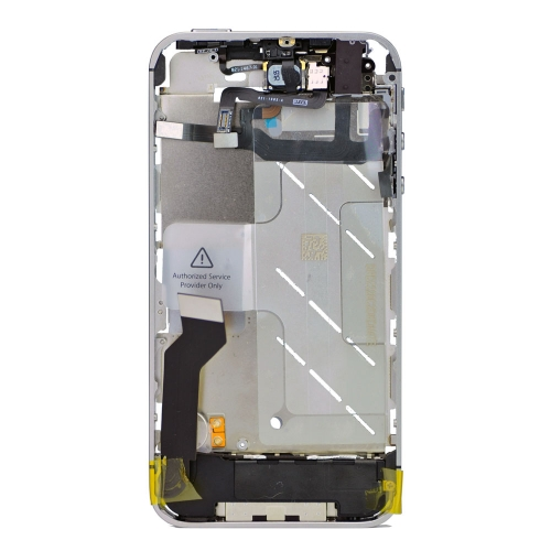 Original For iPhone 4s Middle Board Metallic With Small Parts -silver