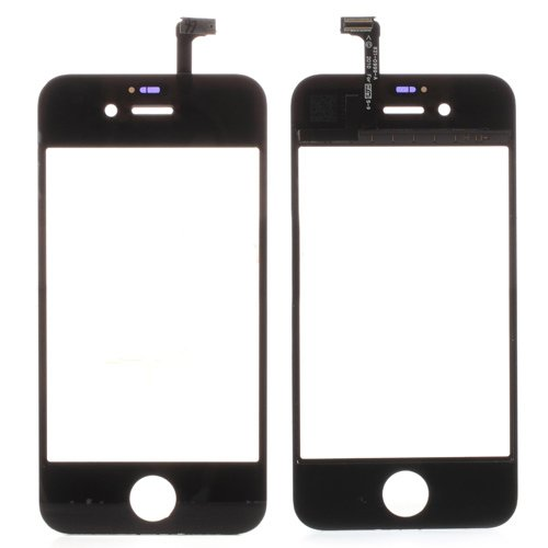 Touch Screen Digitizer Replacement Part for iPhone 4S - Black