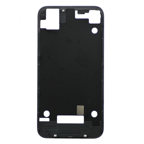 Black back cover frame For iPhone 4S
