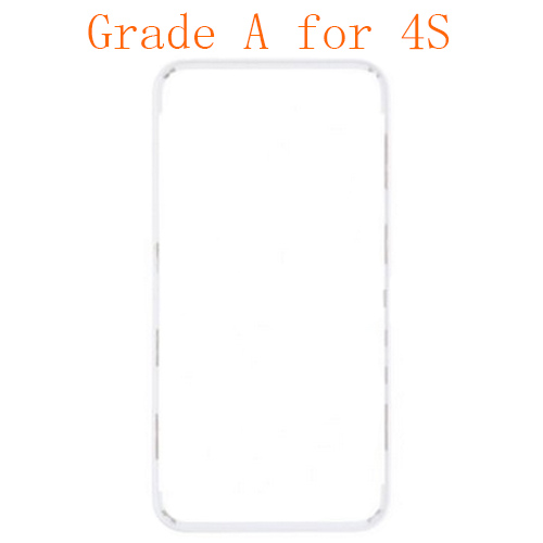 For iPhone 4s Frame with Hot Melt Glue or 3M Stick...