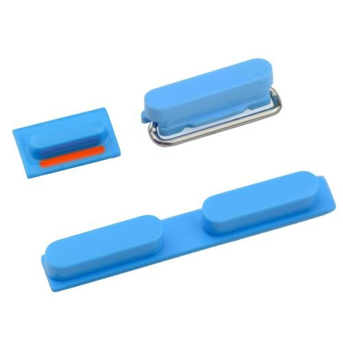 Side Buttons For iPhone 5C - Blue
