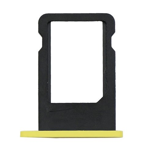 Original For iPhone 5C SIM Card Tray - Yellow