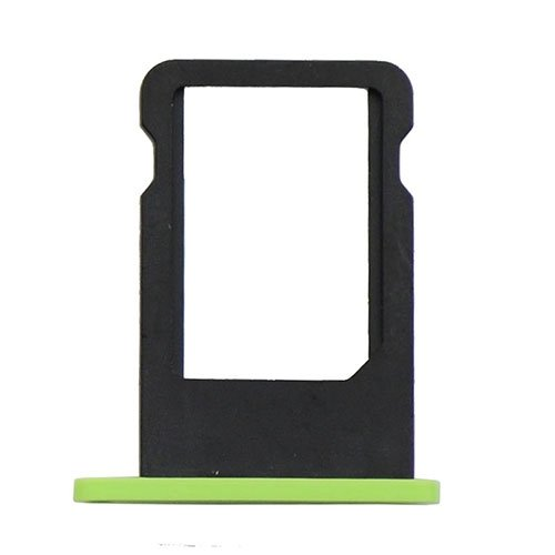 SIM Card Tray For iPhone 5C - Green