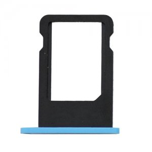 Original For iPhone 5C SIM Card Tray - Blue