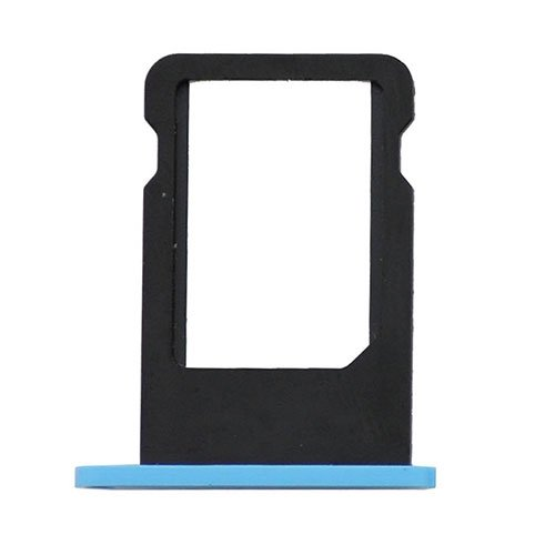 Original For iPhone 5C SIM Card Tray - Blue
