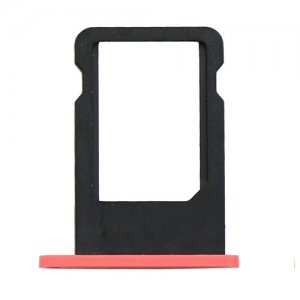 Original For iPhone 5C SIM Card Tray - Pink