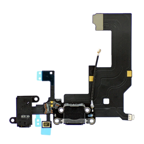Dock Connector Charging Flex Cable For iPhone 5 - Black