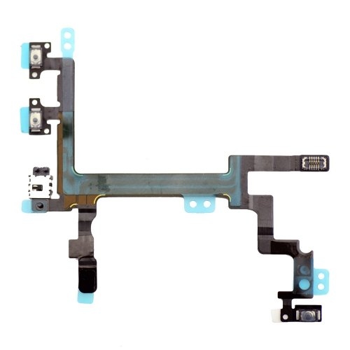 Original  Power/Volumn/Mute Flex Cable for iPhone 5