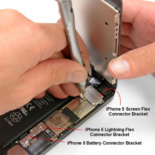 Battery Connector Bracket Locker for iPhone 5