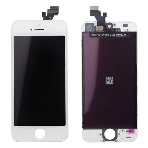 Refurbished LCD Assembly for iPhone 5 White