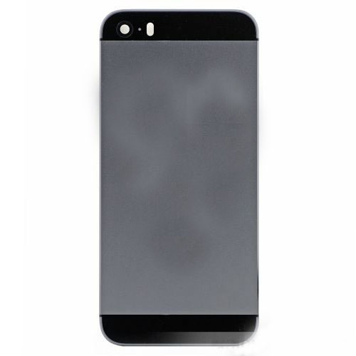 Grey Back Housing Cover with Side Buttons for iPho...