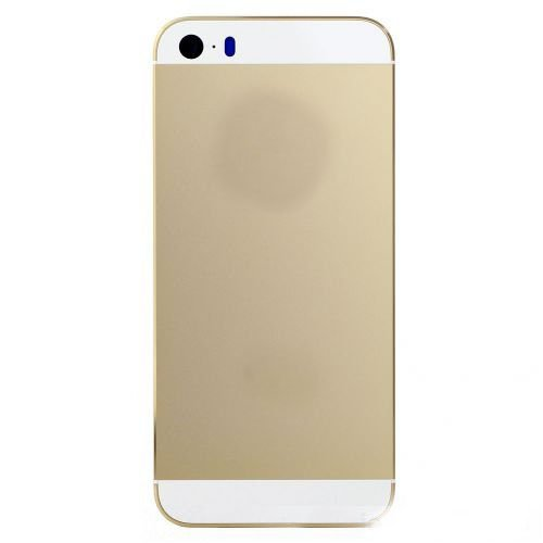 Gold back housing cover for iPhone 5S